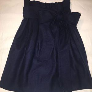 NWT j. crew skirt. Navy
